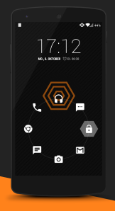 Xen Orange CM 11 Theme v1.1.9 1