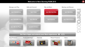 Nero Burning ROM 2015 v16.0.02200 Final 2