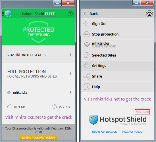 hotspot shield elite crack for pc