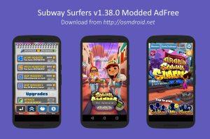 Subway Surfers 1.38.0 Arabia Riyadh Mod