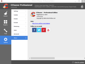 CCleaner v5.06.5219 Incl. Business, Technician and Professional Edition